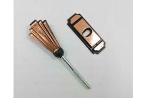 China Germany coffin screw and washer PS14 in copper color and screw length 6.3cm on sale