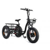 China Portable Three Wheel Electric Scooter , Adults Electric Tricycle CE Approved on sale