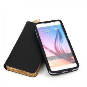 Quality サムスンS7ギャラクシーS7端のための1つの別々の札入れの革箱に付き2016台の電話袋2つ for sale