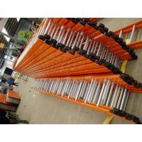 Galvanized Steel Straight Scaffold Step Ladder / Lightweight Step Ladder 6M