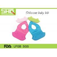 New design baby products waterproof silicone foldable baby bib