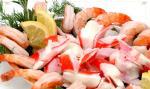 carne fervida congelada dos mexilhões do mar
