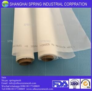 China Nylon mesh micron filter cloth for solid-liquid separation/bolting cloth 64T white on sale