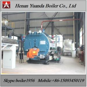 China Industrial Fire tube 150 PSI 100bhhp 200 bhp LPG Fired Steam Boiler on sale