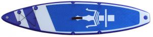 China Racing 12'6 SUP380 Inflatable Standup Paddleboard SUP With One Kayak Seat 15cm Thickness on sale