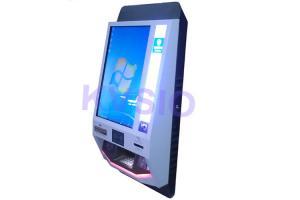 China Easy Operated Internet Banking Kiosk , Self Service Kiosk Motion Senser Type on sale