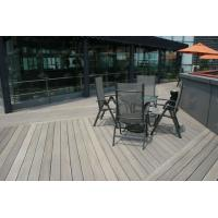 China Flexible WPC Composite Decking Patio WPC Construction Decking on sale