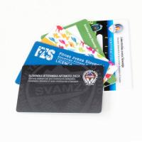 Hotel Magnetic PVC Plastic Business Cards / Membership Card Double Side Printing