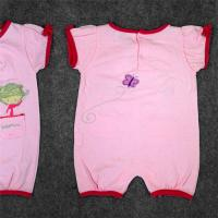 Full Cotton Newborn Baby Clothes Set Baby Dress 180G 100% Cotton Interlock