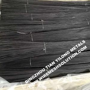 China Preofessionalannealed Black Wire , Black Annealed Binding Wire For Construction on sale