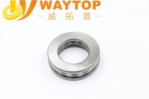 China HRC62 - 66 Chrome Steel Axial Thrust Bearing With OEM Service 51144 on sale