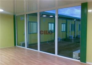 China Foldable Expandable Flat Pack Container House With Aluminum Big Glass Window on sale