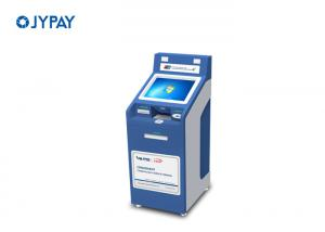 China LCD Touch Screen Payment Terminal , Bill Payment Kiosk With Cash Dispenser on sale