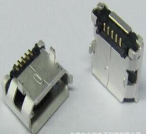 China GUANGDONG MICRO USB CONNECTOR, 5P FEMALE, 5.65 on sale