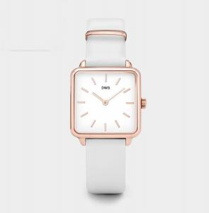 China Men Women Genuine Leather Strap Watch Alloy Case With Quartz Movement on sale