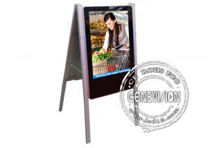 China Slim color HD 24 inch Wall Mount LCD Display 16:9 Aspect Ratio digital totem on sale
