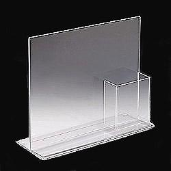 China T shape acrylic sign holder on sale