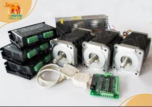 Quality CNC Router kits 3Axis Nema 34 Stepper Motor 1600oz DQ860MA stepper motor driver for sale