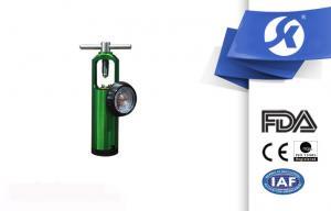 China Hospital Medical Equipment Aluminum Oxygen Regulator With 12 Levels on sale