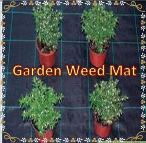 China Agricultural  Woven Mulch Weedmat  Weed Control Mat Weed Mat in Strawberry Garden on sale