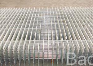 China Building Square Wire Mesh Panels / Galvanized Iron Wire Weld Mesh Panels on sale