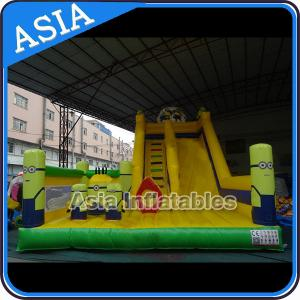China Minions Commercial Inflatable Bouncer For Sale / Inflatable Minions Bouncer Slide on sale