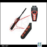 134.2KHz LF Handheld RFID Reader Long Range Stick Cable For Animal Management