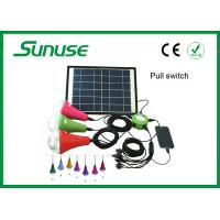 12W Rechargable LED Solar Home Lighting System with Remote Control