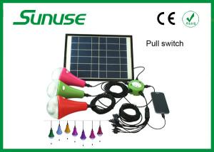 China indoor / outdoor 12W home solar lighting system with monocrystalline Solar panel on sale