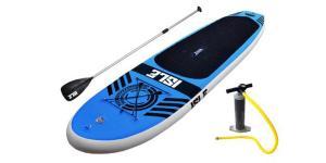 China Stable 10'6 Fiberglass SUP Board 15PSI Pressure For Fishing / Yoga / Racing on sale
