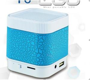 China LED Bluetooth Speakers with fm radio, wireless speaker mini speaker  V2.0 for iPhone iPod iPad Phones on sale