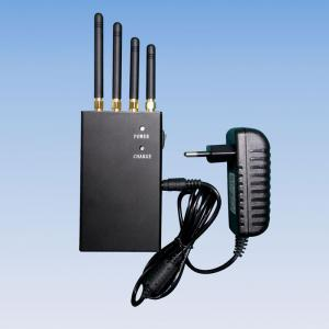 China Signal jammer   4 Band 2W Handheld WiFi 3G Mobile Phone Jammer on sale