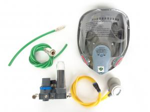 China Gas Supply Type Industrial Face Mask Respirator , Half Face Dust Mask Dustproof on sale