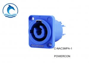 China NAC3MPA-1 Female Powercon Connector 3 Pin Plug And Socket Waterproof IP65 on sale