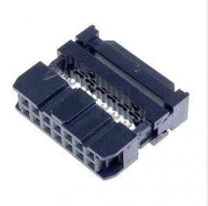 China Dual row 14 pin IDC Socket Connector 2.54mm Pitch,2*07 pin,wire to board connector on sale