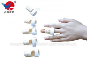 China Lightweight Easy Wear Hand Finger Splint , High Durability Soft Middle Finger Splint on sale