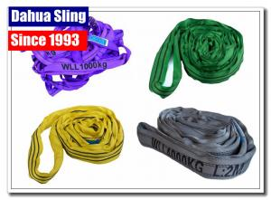 China High Strength Disposable Endless Round Slings For Tubing &  Pipe Industry on sale