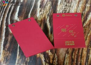 China Offset Printing New Design Spiral Binding 365 Pages Paper Table Calendars YH8 on sale