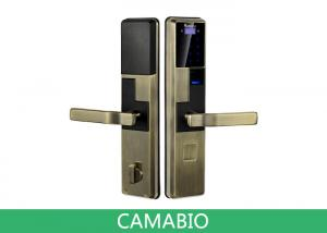 Quality CAMA-C010 Keyless Biometric Door Lock 3.3V Voltage With Deadbolt Lock Latches for sale