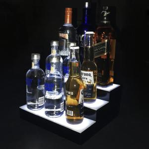 China Factory Customized Acrylic LED Wine Bottle Display Made Of 3mm Material on sale