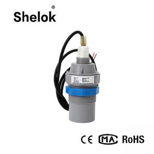 China Pool water oil tank ultrasonic liquid level sensor transmitter on sale