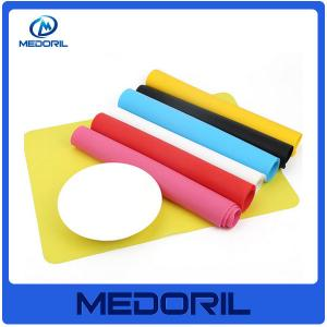 China Promotion factory price thin silicone rubber table top mat for kids on sale