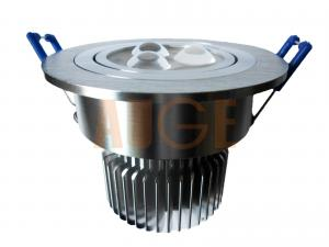 China 3X1W, 3X3W high power led downlight, Bridgelux LED ceiling light, factory price downlight on sale