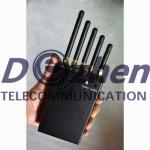 3W Handheld Phone Jammer & WiFI Jammer & GPS Jammer with Cooling Fan