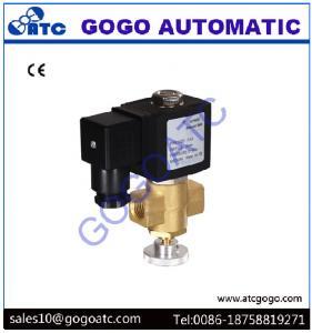 China Válvula de aire manualmente ajustable del solenoide para el ahorro de la energía del gas natural/del gas licuado on sale