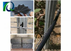 China Anti Corrosion Metal Vineyard Trellis Posts For Fruit Planting 1.8MM X 2.4M Size on sale