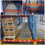 Custom Size Warehouse Pallet Live Racking Multi Function Powder Coating Finish