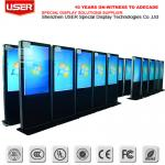 High Resolution LCD Touch Digital Signage Advertising For Shopping Mall
