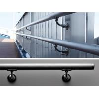 China Stainless steel stair handrail bracket for glass railing on sale