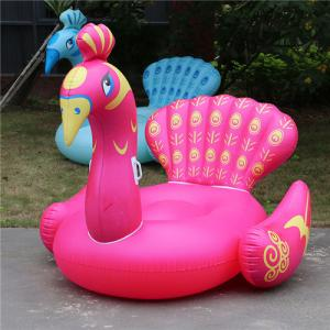 China Beautiful New Design PVC Inflatable Pool Float Peacock on sale
